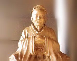 湯島聖堂にある孟子像